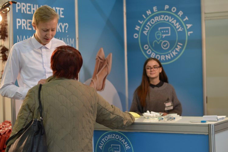 Hovorili sme spolu o skríningu rakoviny aj zdravom stravovaní. FOTO: preventivne.sk