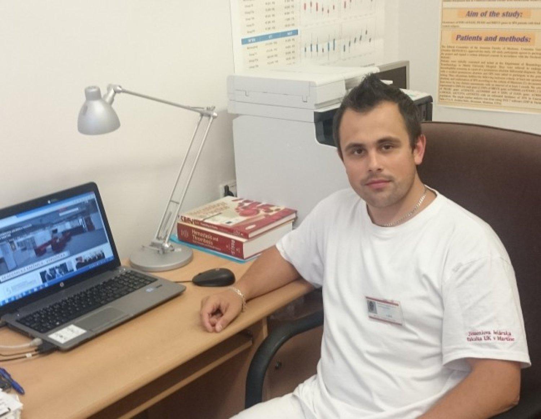 Tomáš Šimurda má vrodenú afibrinogenémiu. Foto: Archív T. Š.