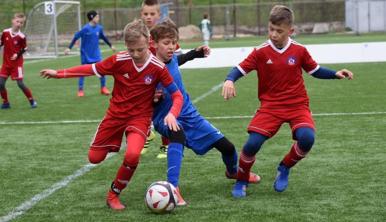 Mnohí detskí futbalisti trénujú už od štyroch rokov. FOTO: AS Trenčín