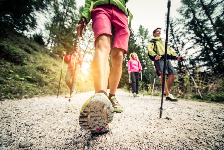 Pri nordic walkingu spálite toľko kalórií ako pri ľahkom behu. FOTO: Adobe Stock