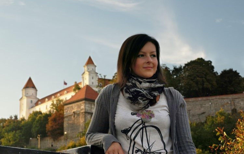 Kristínka Waczulíková sa už môže konečne usmievať. Foto: Archív K.W.