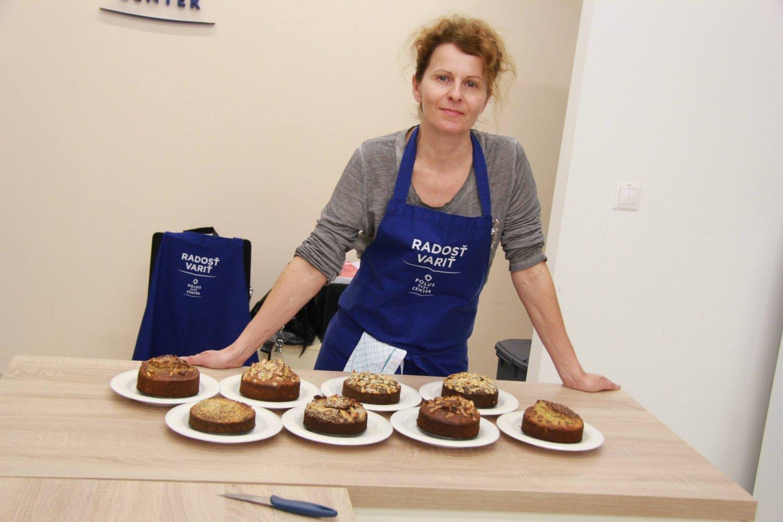 Silvia Horecká radí, aké potraviny používať a ako ich správne upravovať. FOTO: Inez Krídlová