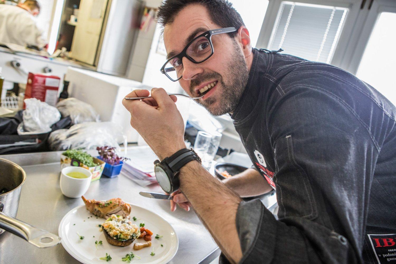 Dizajnér a fotograf Martin Queue bol v stave ohrozujúcom jeho život. Úprava stravy mu veľmi pomohla. FOTO: Archív M.Q.