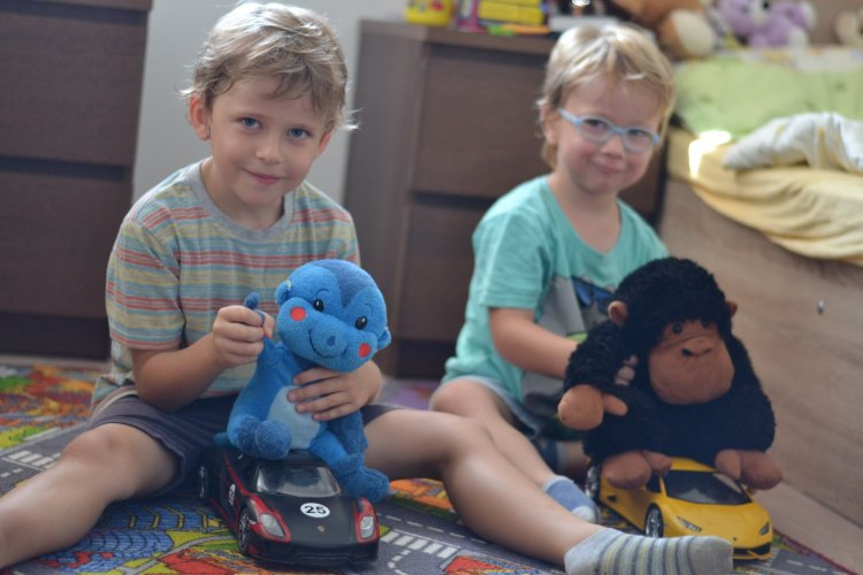 Samko sa narodil so závažnou poruchou sluchu. FOTO: www.preventivne.sk